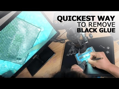SHAPUS iCresent QianLi 007 Black Glue Removal Tool Operating Video