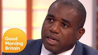 David Lammy Received Racist Abuse for Speaking Out About Grenfell | Good Morning Britain