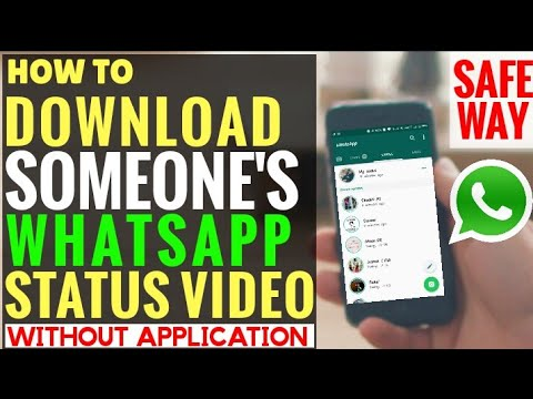 How to Download Someone WhatsApp Status Video [Hindi + English Sub] Without Application
