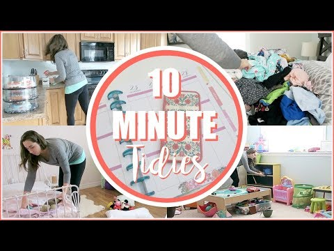 Daily to Do   MESSY HOUSE - Clean With Me - 10 MINUTE TIDY