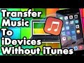 How To Transfer Music From Computer To Iphone Ipad Ipod Touc