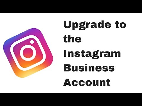 How to change your instagram profile to a business account