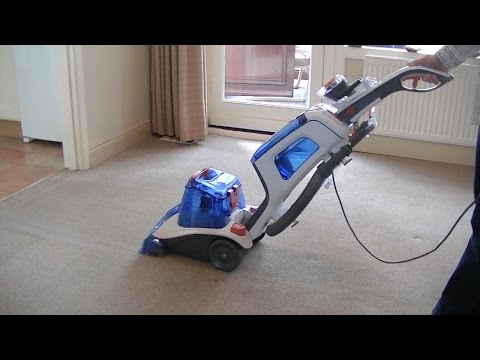 Vax Dual V Advance Carpet Washer Demonstration & Review