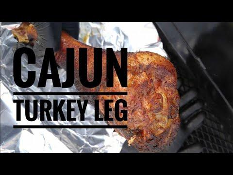 Smoked Cajun Turkey Legs by TREmendous Que