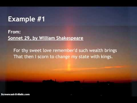 Examples of Rhyming Couplets in Poetry