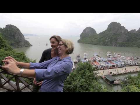 Ha Long Bay by Boat, Hanoi, Vietnam