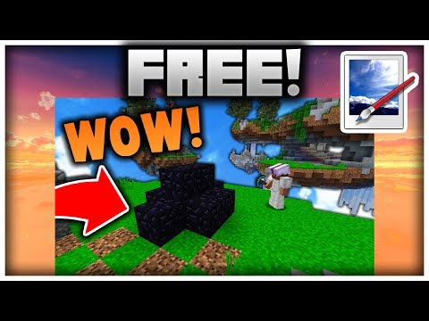 How to Make Minecraft Thumbnails with PAINT.NET! (100% FREE)