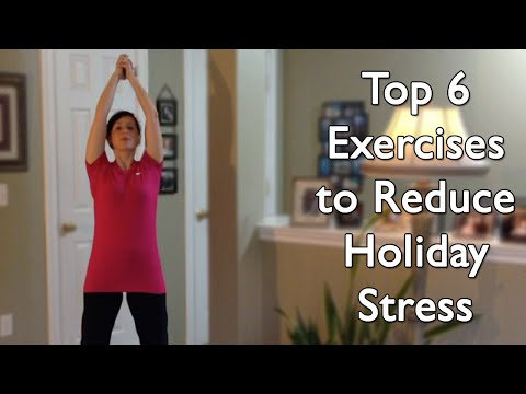Top 6 Exercises to Reduce Holiday Stress