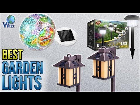 10 Best Garden Lights 2018