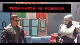 Terminator V.S. Robocop Stop Motion - Fantasy Toy Battles S2 Ep2