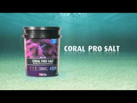 Red Sea Coral Pro Salt - How it's made