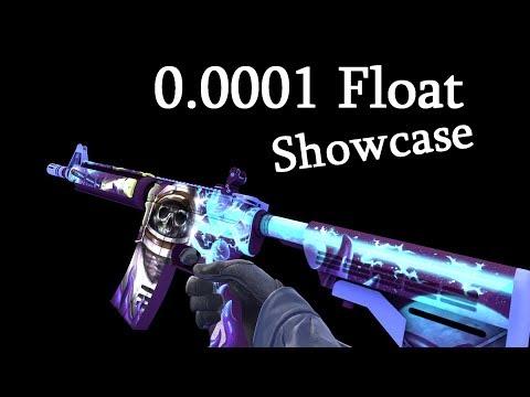 CSGO - M4A4 | Desolate Space (0.0001 Float Value) Skin Showcase