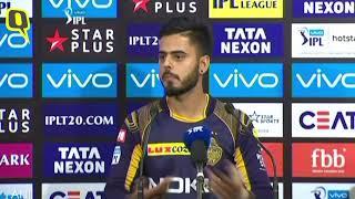 Nitish Rana on Kolkata Knight Riders' Win Over Delhi Daredevils | The Quint