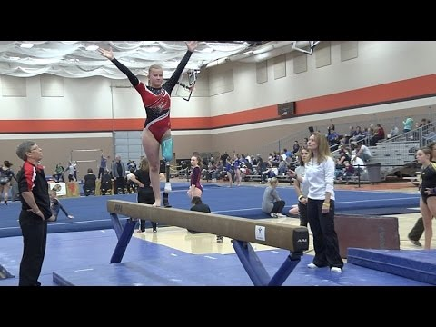 Cancer Surviving Teen Doesn't Stop Being a Gymnast Even with One Leg