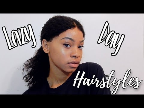 3 Lazy Day Curly Hairstyles | HerGivenHair