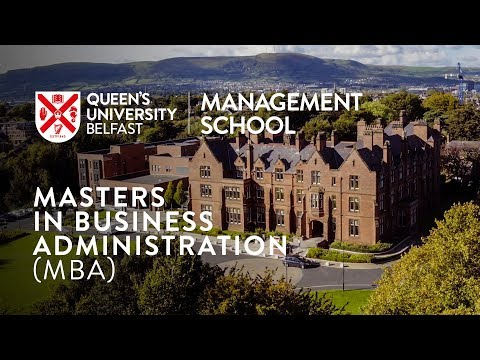 Masters in Business Administration (MBA)