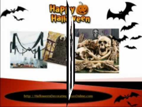 Halloween Decorating Ideas | Halloween Props | Halloween Yard Decorations