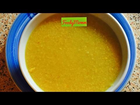 Homemade Baby food Recipe- Broken /Cracked Wheat/ Daal Daliya Khichdi- Toddler, Kids Recipe
