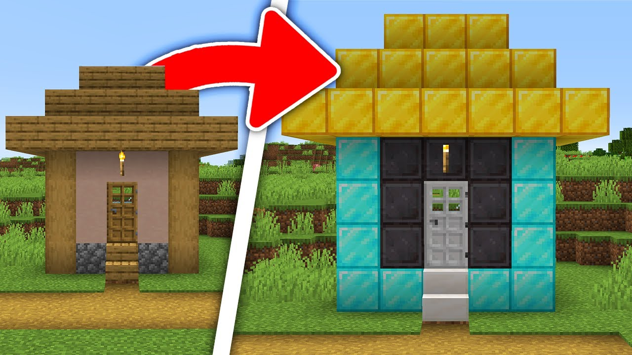 Minecraft, But You Can Upgrade Structures
