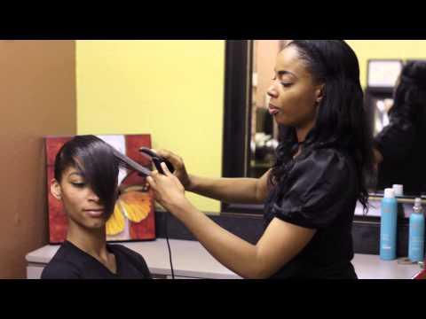 Haircuts With Long Bangs & Short Hair : Bangs & Styling Hair