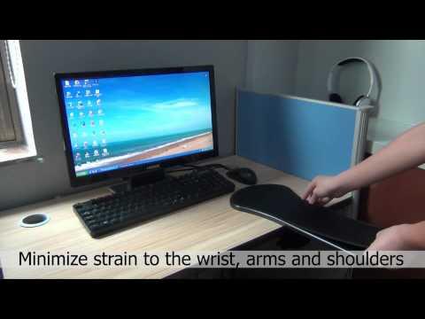 Ergonomic Computer Armrest Adjustable for desk and chair
