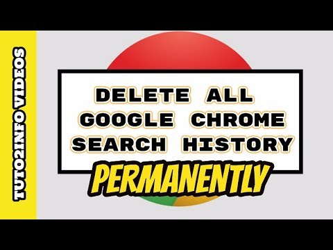 How To Delete Google Chrome Search History | Clear Browsing History