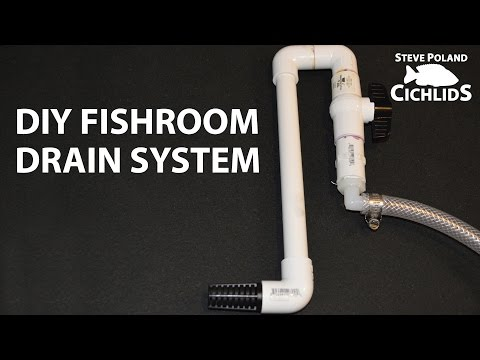 DIY Fishroom Drain System