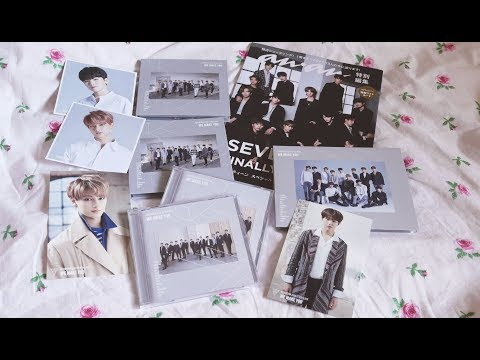 Seventeen We Make You Albums + Anan Magazine Unboxing