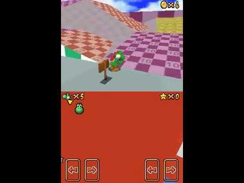 SM64DS test levels