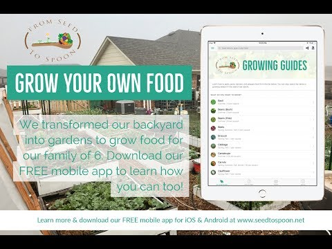 FREE Webinar: Learn How to Grow Your Own Food Using Our FREE iOS & Android App That Makes It Easy!