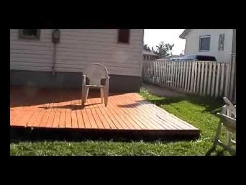 Building my free deck