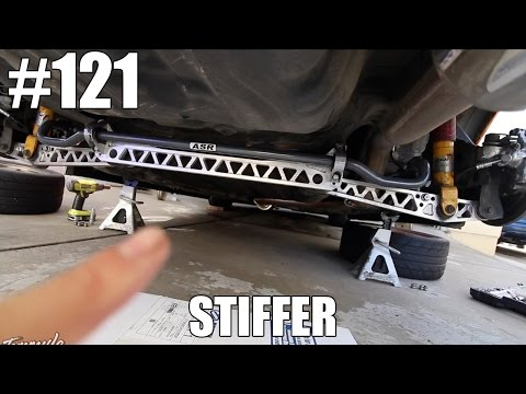 MAKING THE REAR END STIFFER  +NEW SWAY BAR