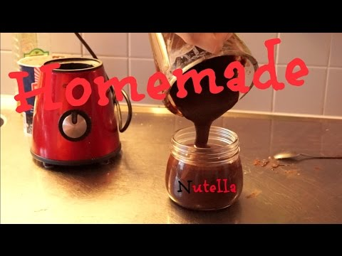 Homemade Nutella II Lactos free & Vegan