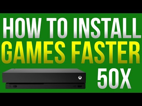 HOW TO INSTALL FIFA 18 FASTER (Xbox One)