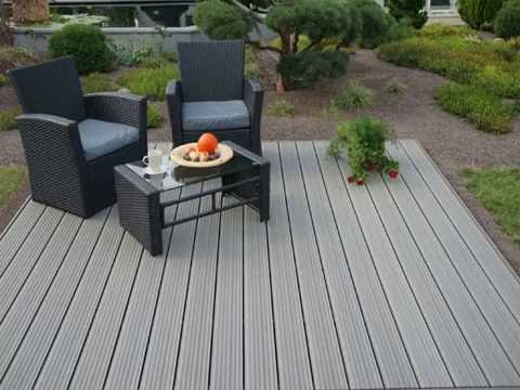 lightweight wood  floor for backyard