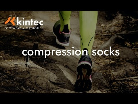 Why You Need Compression Socks | Kintec: Footwear + Orthotics