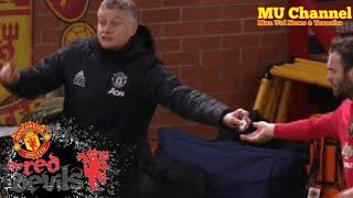 Ole Gunnar Solskjaer explains note he passed Juan Mata during Manchester United's win over Wolves