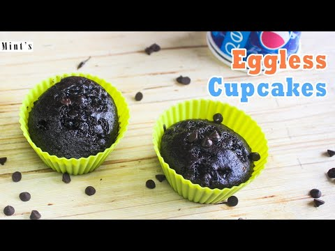 Eggless Chocolate Cupcake in Pressure Cooker-Cupcake Recipe In HIndi-Ep-202