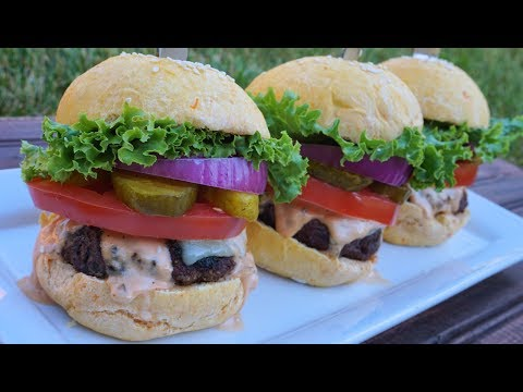 Best Beef Burgers with Homemade Burger Sauce | Episode 111