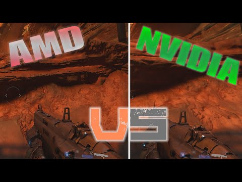 DOOM Graphics AMD vs Nvidia - 'The Way it's Meant to be Played' in 2016