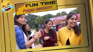 Fun Time in Panjab University Chandigarh | सेल्फी की हिंदी ??