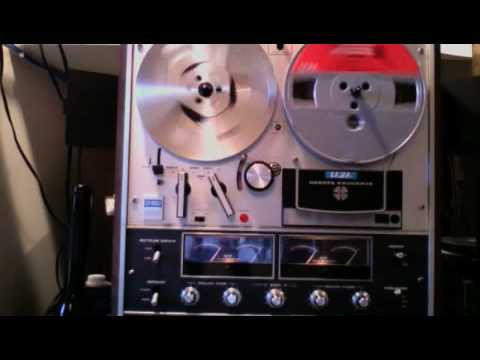 Akai 1800-SS Quad Surround Reel to Reel, with built in 8 Track and Speakers