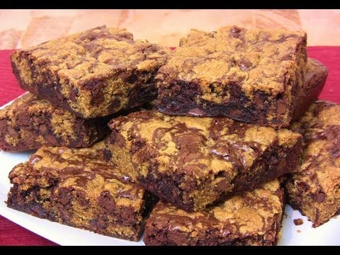 Chocolate Chip Cookie Brownie Bars! An Easy Chocolate Treat | Cooking With Carolyn|