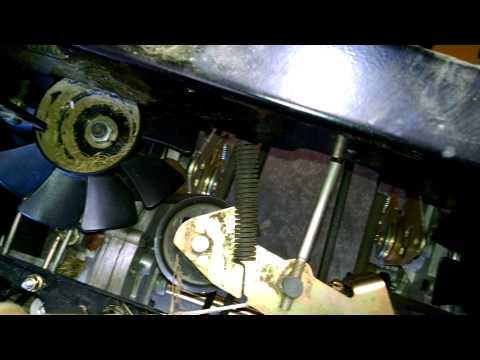 REINSTALL DRIVE BELT CUB CADET