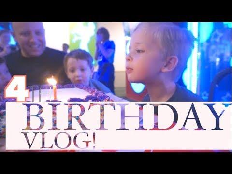 NASH TURNS 4!! | Toddler Birthday Party Hack | steffiethischapter VLOGMAS 1