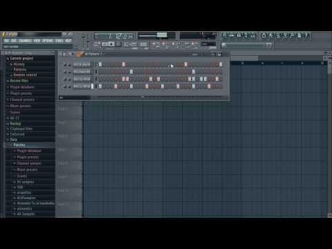 ► Make a DUBSTEP DRUM BEAT in FL Studio (Free FLP + Samples Pack)