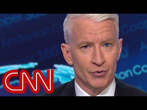 Cooper: Trump makes 'Roseanne' debate about self