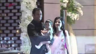 Dhoni With Daughter, Raina, Kohli, Abhi-Aish, Akshay-Twinkle At Party For Harbhajan & Rohit Sharma