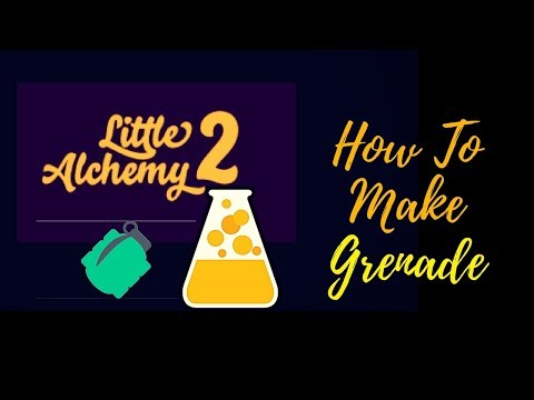 Little Alchemy 2-How To Make Grenade Cheats & Hints