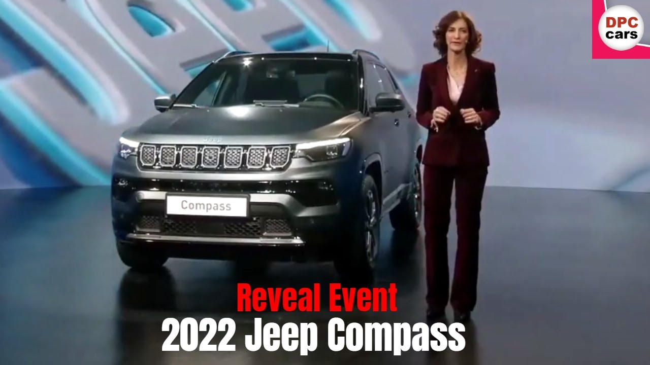 New Jeep Compass S 2022 Facelift Reveal Event